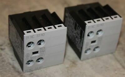2 x Moeller Contact Blocks DILM32-XHI11