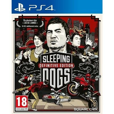 Sleeping Dogs definitive edition - PS4 neuf sous blister VF