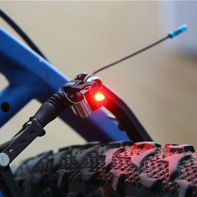 New Bike Brake Light Mount Tail Rear Bicycle Cycling LED Safety Warning Lamp