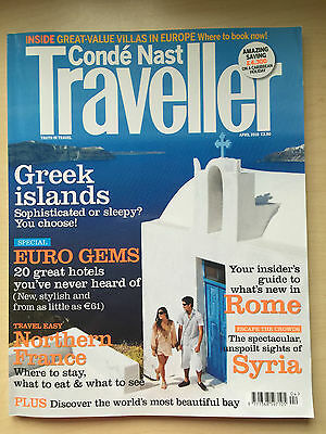 Palmyra Syria included - Conde Nast Traveller Magazine (UK Edition) - April 2010