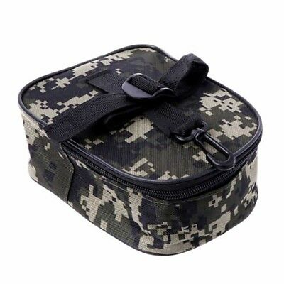 Portable Fishing Reel Mini Bag Pocket Fishing Tackle Pouch Case_Outdoor