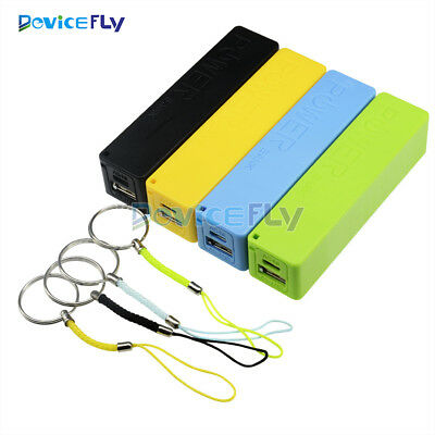 USB Power Bank Case 18650 Battery Charger DIY Kit Box Blue/Green/Yellow/Black