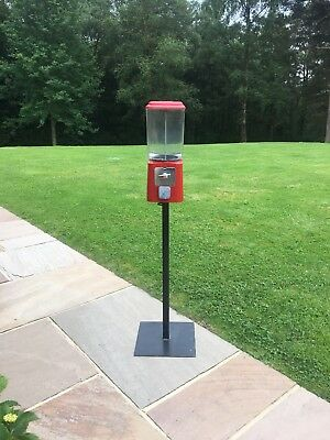 Retro Red Free Standing Vending Machine