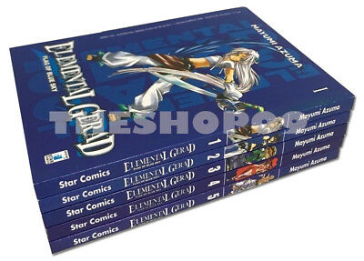 manga Elemental Gerad Serie COMPLETA 1/5 Flag Of Blue Sky - Star Comics