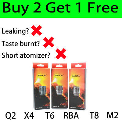 SMOK2 TFV8 Baby Coil Replacement Coil V8- Q2 X4 T6 T8 M2 For Big Baby/Baby Beast
