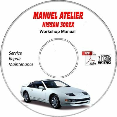 XF 08-10 Manuel Atelier CDROM JAGUAR Anglais Expédition CD Support Inclus