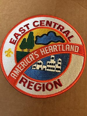 Vintage East Central Region BSA Large Back Patch Boy Scouts Of America