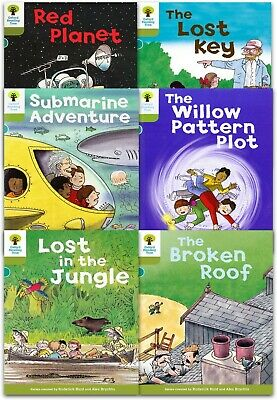 Oxford Reading Tree Biff Chip Kipper Stories Level 7 6 Books Collection Set Pack