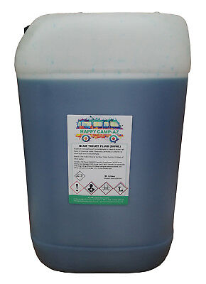 Blue Chemical Motorhome & Caravan Toilet Fluid Cleaner & Protector - 25L
