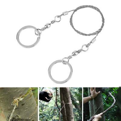 Pocket Steel Wire Chain Saw Cutter Outdoor Camping Travel Emergency Survive Tool