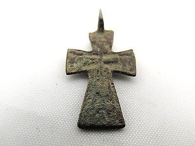 Byzantine Medieval bronze cross CR7