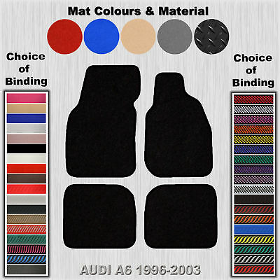 Tailored Fit Carpet Floor Mats For Audi A6 1996-2003