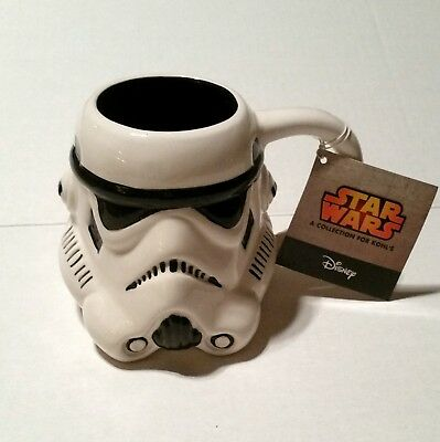 Star Wars Storm Trooper Stormtrooper Sculpted Ceramic Mug -Kohl's Collection
