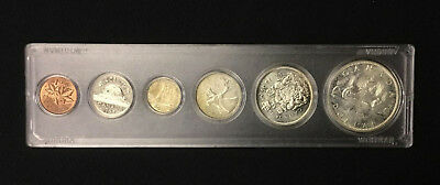 1965 Canada Complete Coin Set From Penny to Silver Dollar