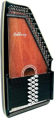 Ashbury Deluxe AUTOHARP. 21 bar, solid spruce top. From Hobgoblin Music