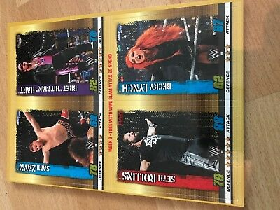 Slam Attax 10th Edition WWE - Exclusive cards set 3