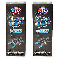 2 x STP Auto Air Con Conditioning Car Cleaner Purifier Bomb Freshener 23150en x2