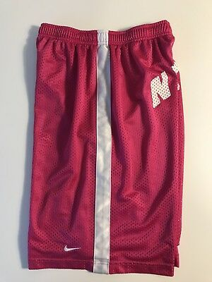 Girls Pink Nike Dri Fit Basketball Shorts, Size Xl. See Measurements In Photos!!