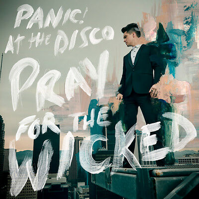 "Panic! At the Disco Pray For the Wicked Poster 32x32"" Album Cover Print Silk"