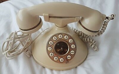 Vintage Retro Home House Phone Corded Telephone Classic Ringer mybelle chic