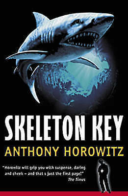 NEW  ALEX RIDER ( 3 ) SKELETON KEY Anthony Horowitz 9780744590074  Shark cover