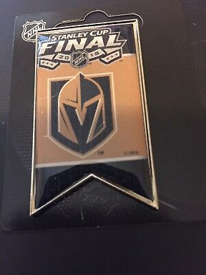 Las Vegas Golden Knights 2018 Stanley Cup Final Pin Banner Style Ships Now