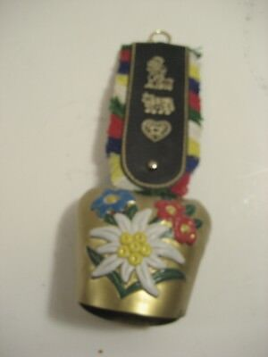 Colorful Germany Floral Cow bell