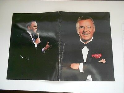 FRANK SINATRA 1990 Concert PROGRAMME from USA