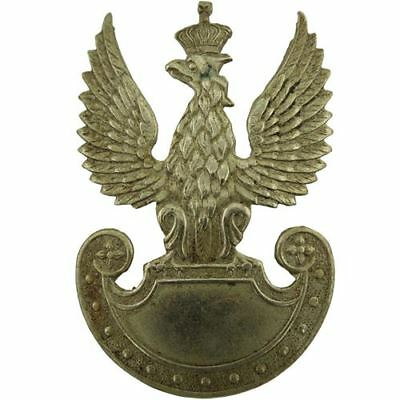 Original WW2 Free Polish Forces (Army In Exile) Battle of Poland Cap Badge BC95