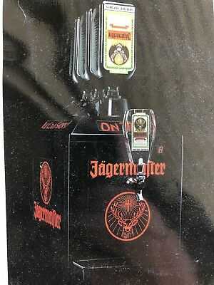 Jagermeister JEMUS Tap Machine Dispenser Chiller for 3-Bottles Jager Bombs !