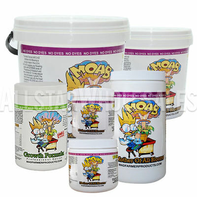 Mad Farmer Mother of All Bloom MOAB Flower Nutrient 100g 250g 500g 1kg 5lb 10lbs