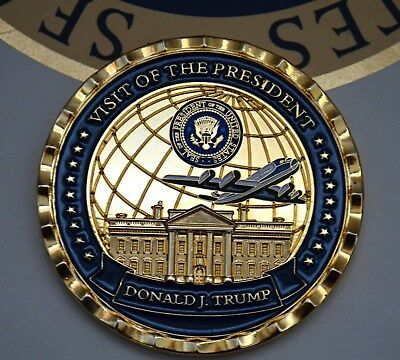 Trump 2018 Visit To World Economic Forum Challenge Coin~White House Issue Only!
