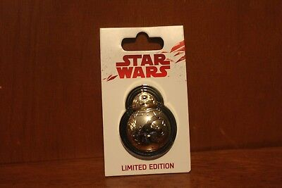 Disney Parks Star Wars The Last Jedi Force Friday Limited Edition BB-8 Pin