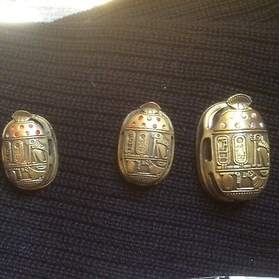 Scarab with Egyptian Hiyerogliphics, New