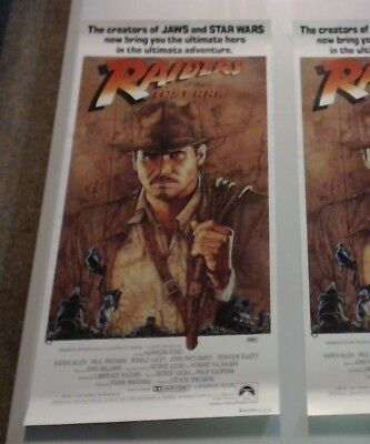 Day Bill Movie Poster - Raiders Of The Lost Ark Harrison Ford Star Wars Jaws