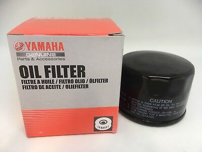 GENUINE Yamaha OIL FILTER 5DM **NEW** Motorcycle ATV Scooters