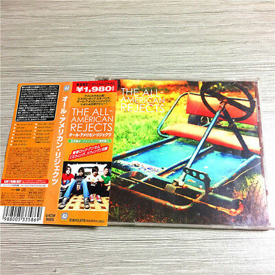 The All-American Rejects Dreamworks UICW-9005 JAPAN CD OBI M-1498