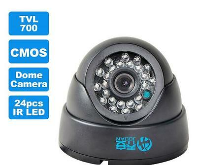 JOOAN 1/2/4 700TVL Camera System CCTV Home Security HD Surveillance Night Vision
