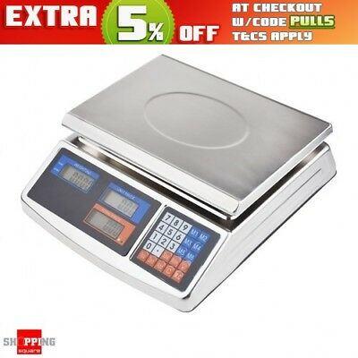 40KG Electronic Price Computing Scale Digital Commercial Food Counting