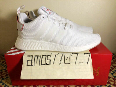 official photos c1785 8d362 ADIDAS ORIGINALS NMD R2 CNY Chinese New Year White Red DB2570 Men DS Size 11