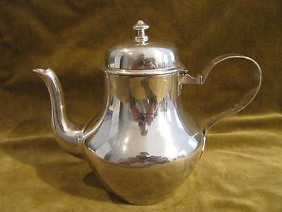 Antique french sterling silver 950 tea pot (for 2) 268g 9,45oz
