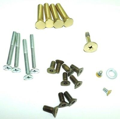 LCN 4640TBWMS4 4640-TBWMS US4 Satin Brass Screw Pack