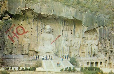 Picture Postcard~ China, The Fenghsien Temple At The Lungmen Grottoes