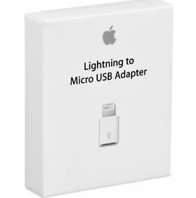 New Original APPLE Lightning to Micro USB Adapter MD820FE/A MD820AM/A