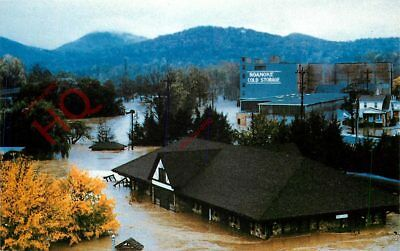 Picture Postcard:;Flood, Virginia Museum Of Transportation, 1985