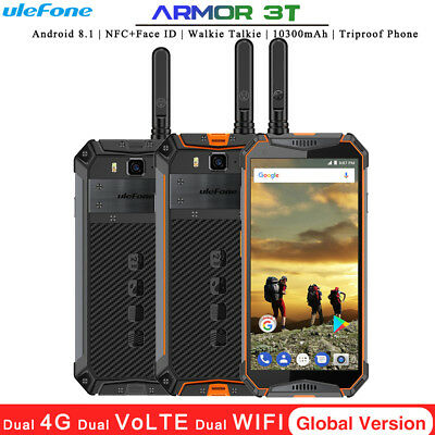 Ulefone Armor 3T Android 8.1 Walkie-Talkie NFC Face ID 10300mAh 4+64G Global