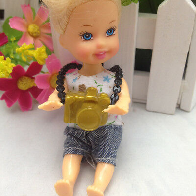 1pc Doll Accessories Plastic Camera For DIY Barbie BJD Vintage Doll Toys Pip
