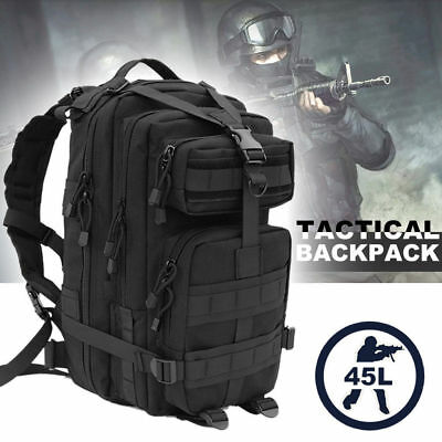 30l 35l 45l Military Tactical Army Rucksacks Molle Backpack Camping Hiking Bag