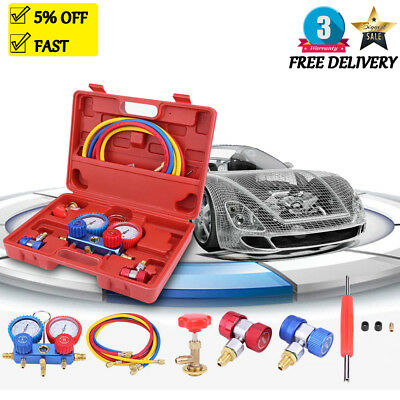R134A Auto Air Conditioner Tester Charging AC Diagnostic Manifold Gauge Tool