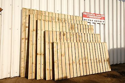 ***6 X 5ft Closeboard Fencing Featheredge panels***